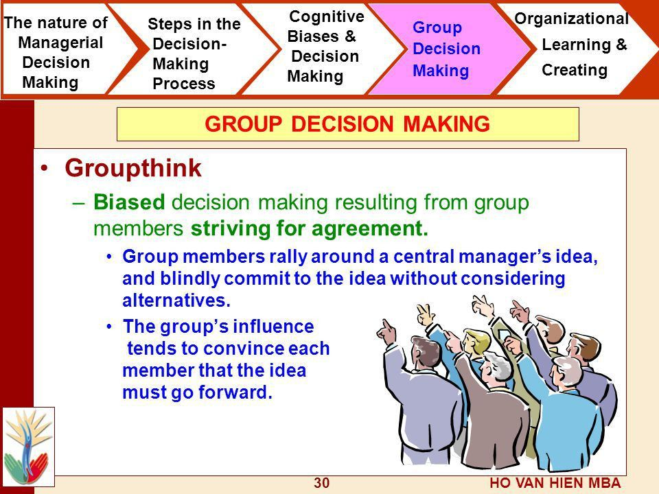 The Manager as a Decision Maker - ppt video online download