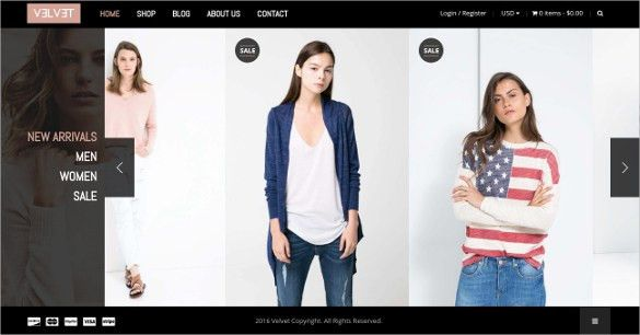 44+ Fashion Website Themes & Templates | Free & Premium Templates
