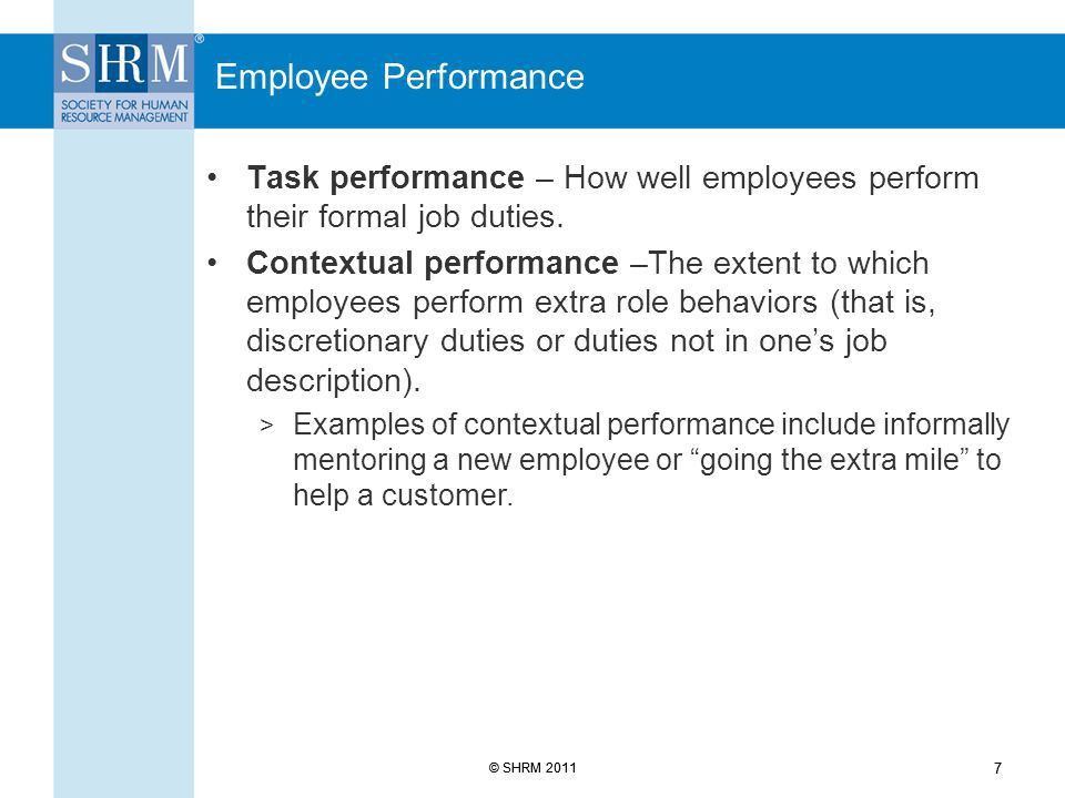 Managing and Responding to Poor Employee Performance - ppt download
