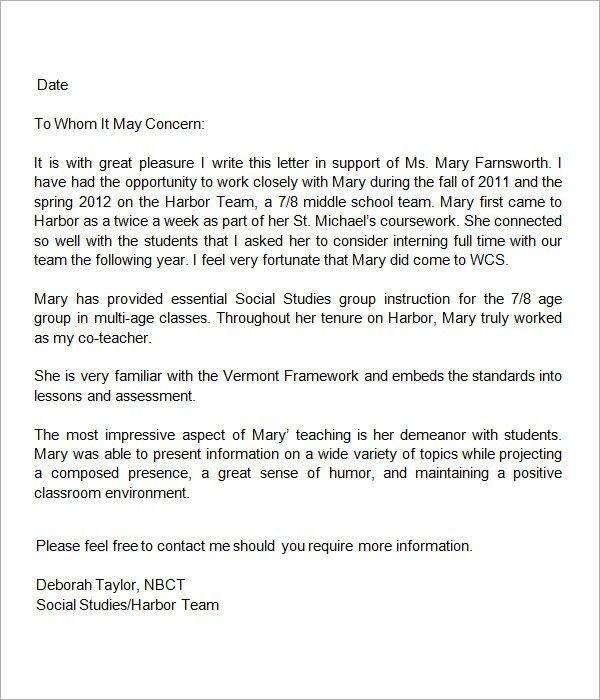 Teacher Letter Of Recommendation. 4 Recommendation-Letter Errors ...