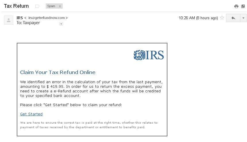 AG - IRS Phone and Email Tax Scams