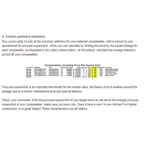 How to Complete a Comparative Market Analysis for Realtors