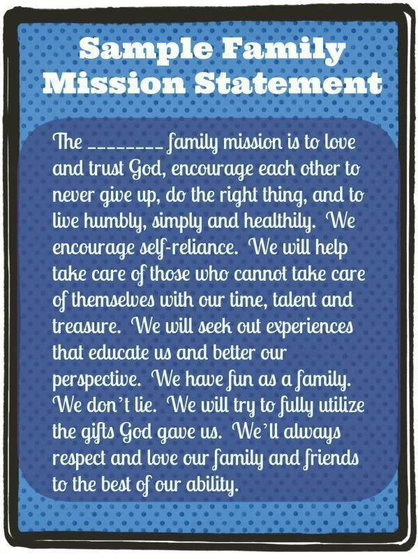 Best 25+ Family mission statements ideas on Pinterest | Mission ...