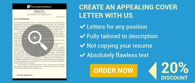 Writing a Professional Cover Letter – Cover Letters for Aspiring ...