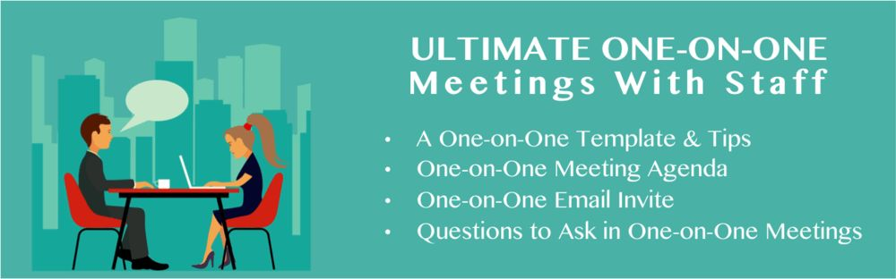 The Best One-on-One Meeting Agenda — Manager Foundation