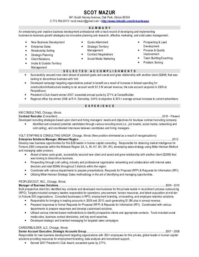 enterprise sales resume enterprise sales executive resume example