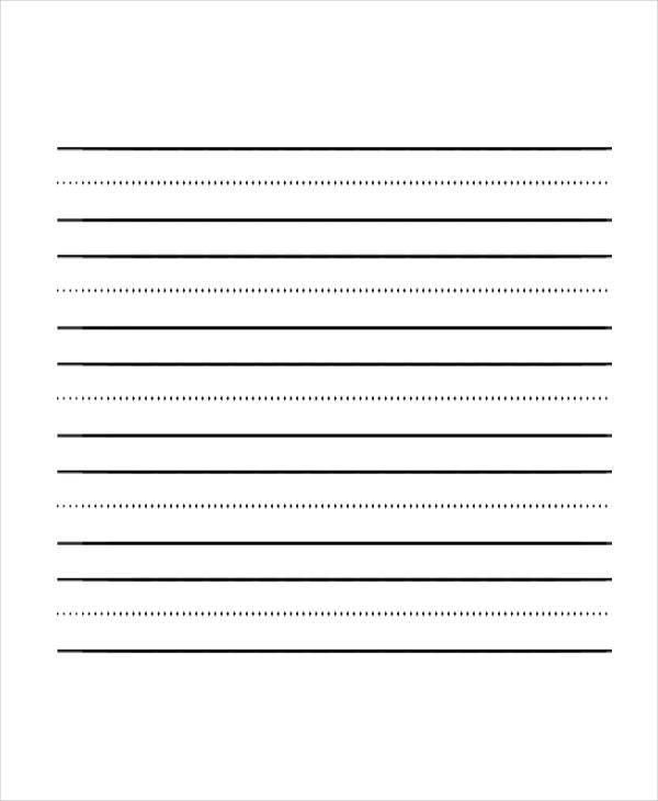 Beautiful Sample Lined Paper Contemporary - Best Resume Examples ...