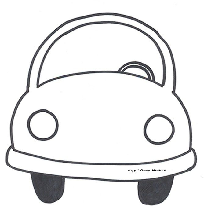 Printable Car Template Car Pattern Use The Printable Outline For – Printable Car Template