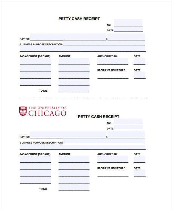 20+ Printable Receipt Templates | Free & Premium Templates