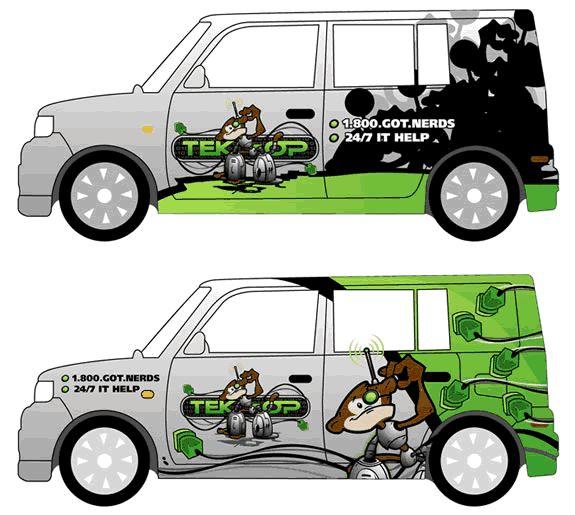10 Car Wrap Design Templates Images - Vehicle Wrap Design ...