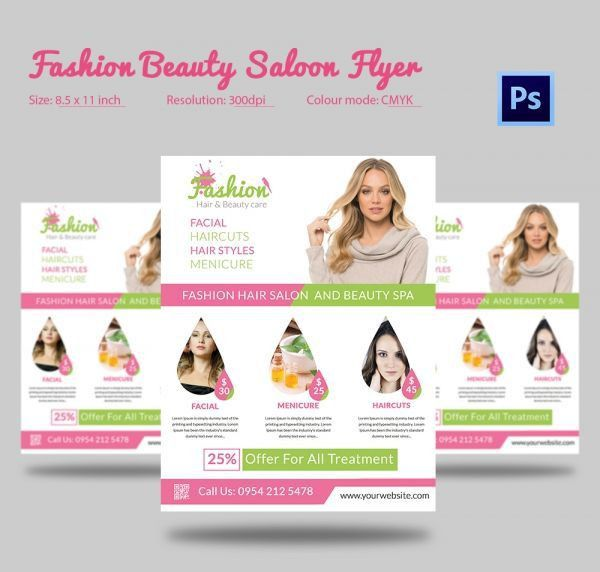 69 best 66+ Beauty Salon Flyer Templates images on Pinterest ...