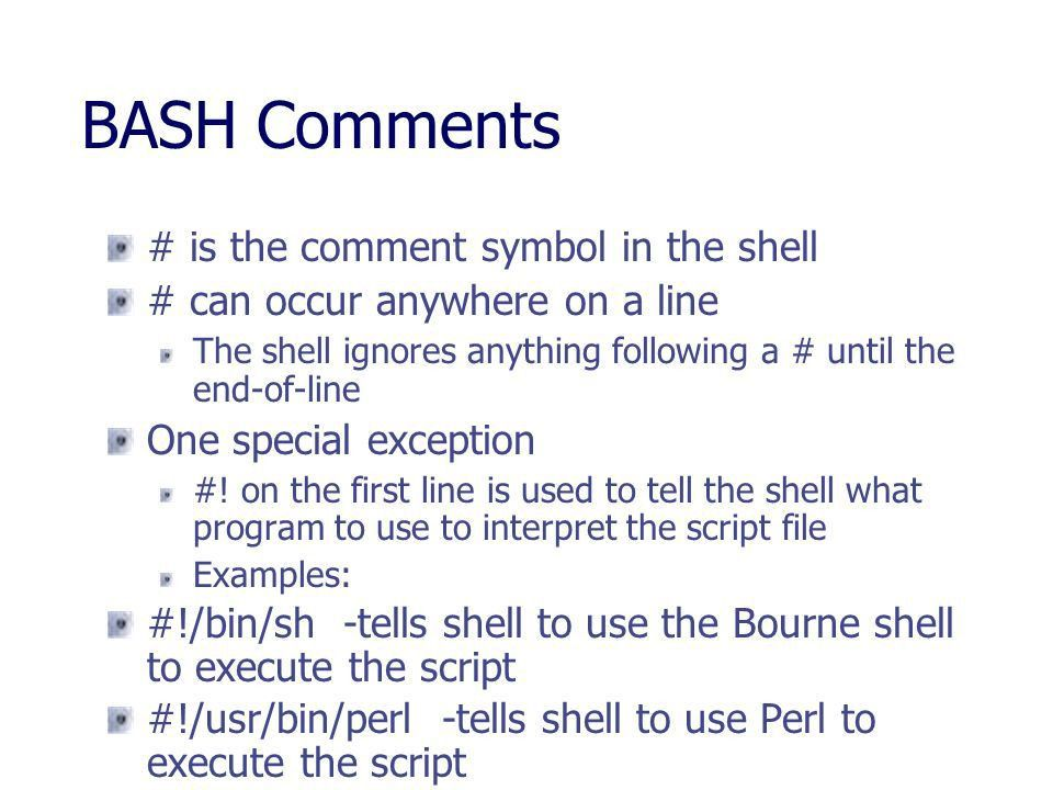 An Introduction to Unix Shell Scripting - ppt download