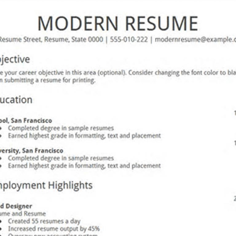 Amazing Chic Resume Templates Google Docs 16 Doc Simple Service ...