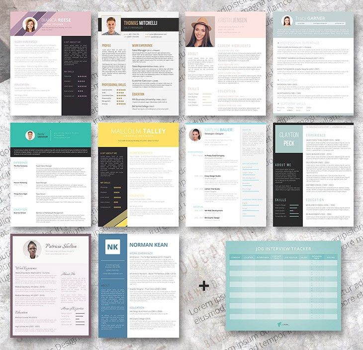Premium Resume Bundle - Freesumes.com