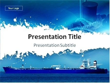 Shipping Presentation Template - Tomyads.info