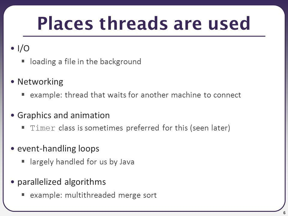 Timers, Threads, and Concurrency - ppt download