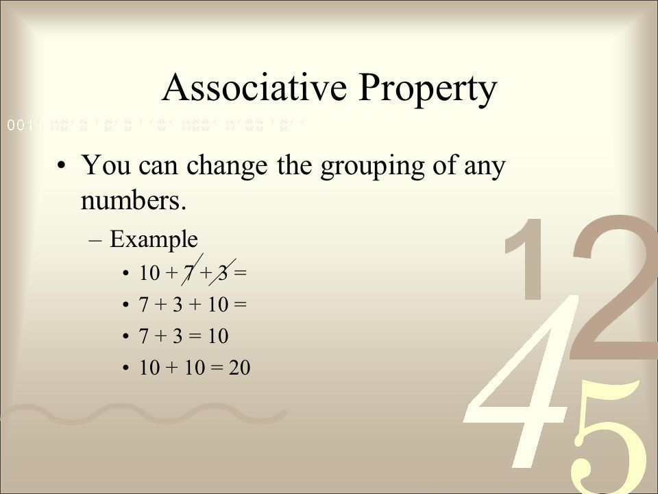 Properties of Addition Chapter 2-1. Mental Math Answering math ...
