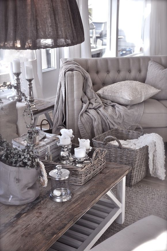 Villa Paprika gray living room decor First Home Pinterest