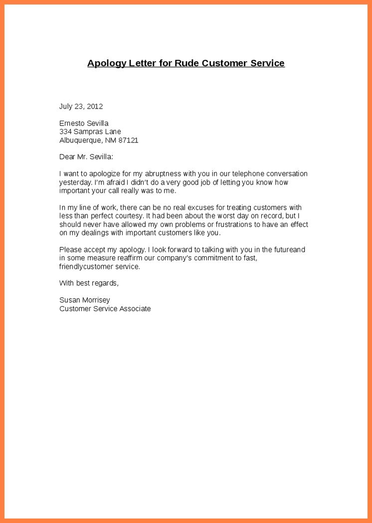 11+ sample apology letter to customer for poor service | Life ...