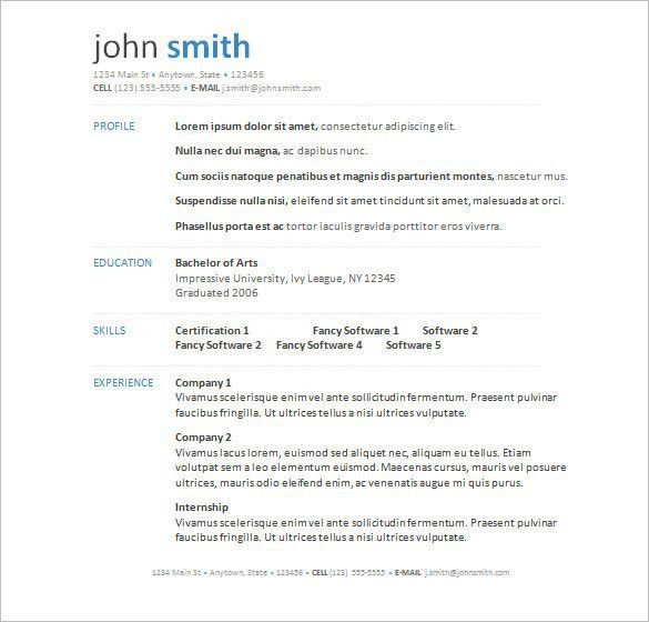 resume ms word format resume in ms word format technical writer