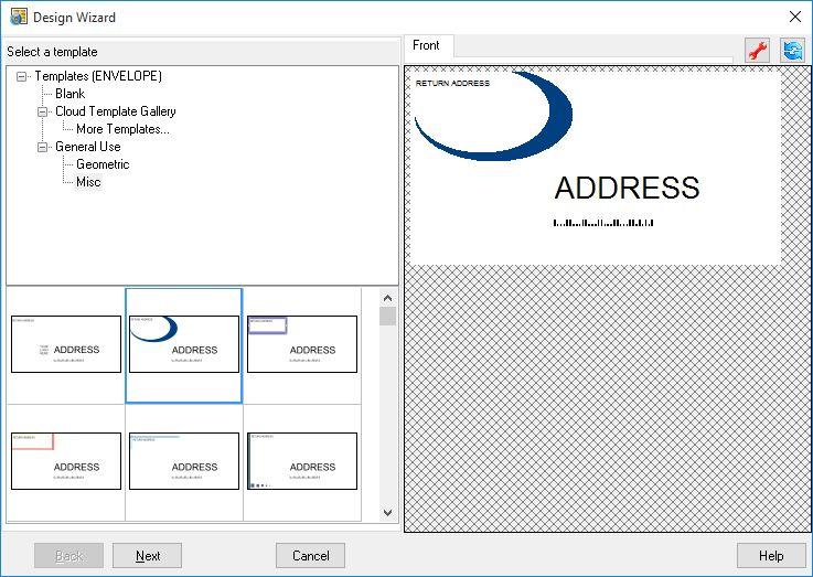 Software to Make & Print Labels, Envelopes and Postcards