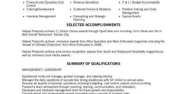 sample resume for cocktail waitress job position. waitress resume ...
