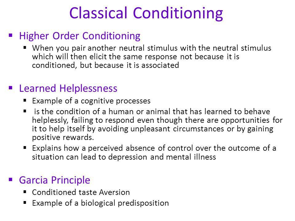 Classical Conditioning - ppt video online download