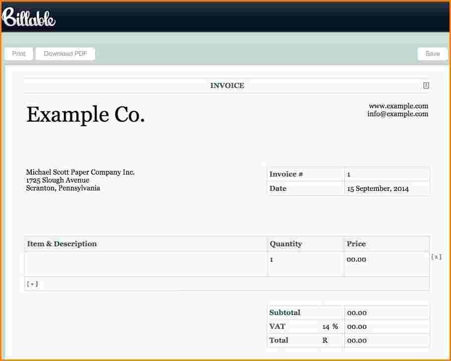 Download Dj Invoice Template Free | rabitah.net