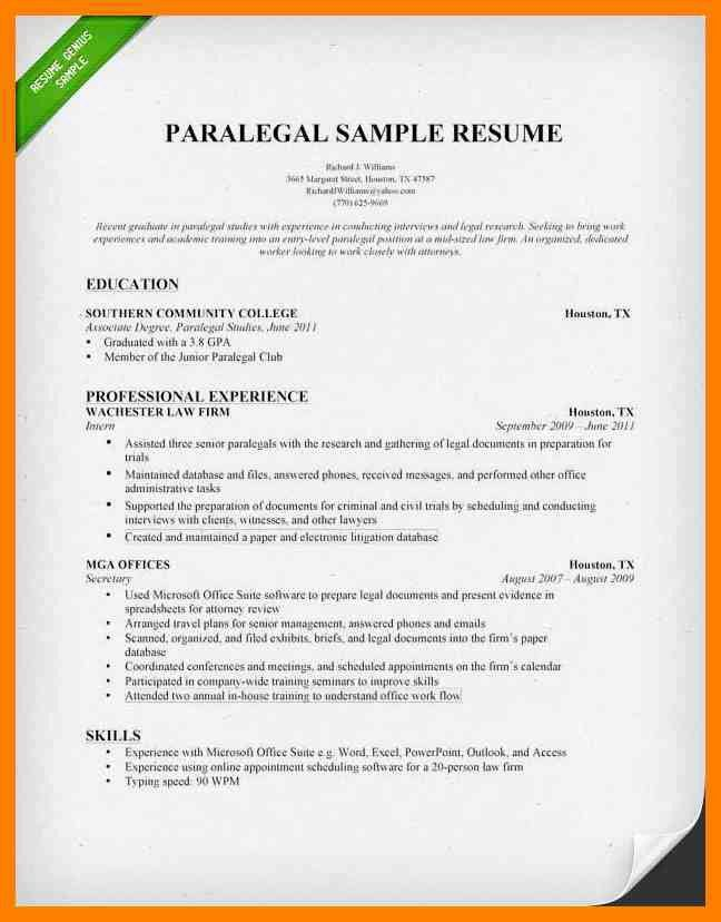 4+ paralegal resumes | appraisal letter
