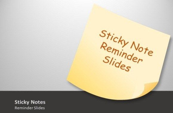 Animated Sticky Notes Template Toolkit For PowerPoint