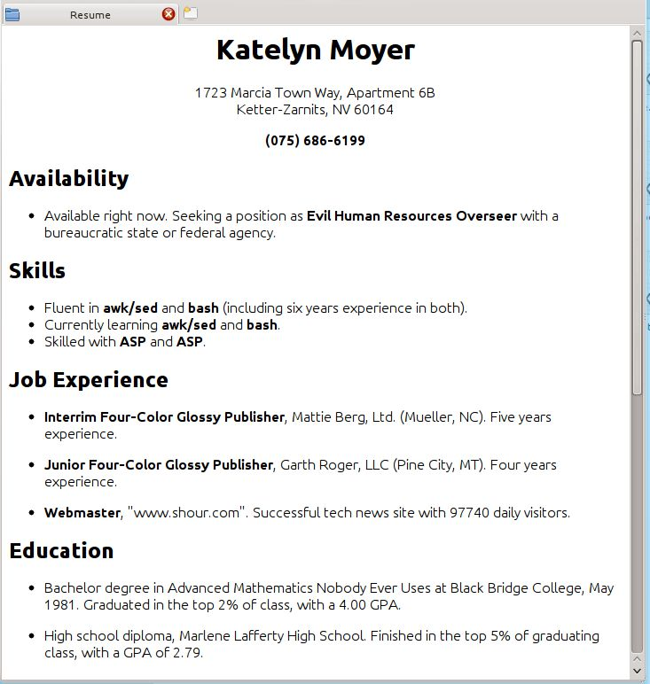 How To Do Resume For Job 7 My Resume Bright Inspiration I A 11 ...