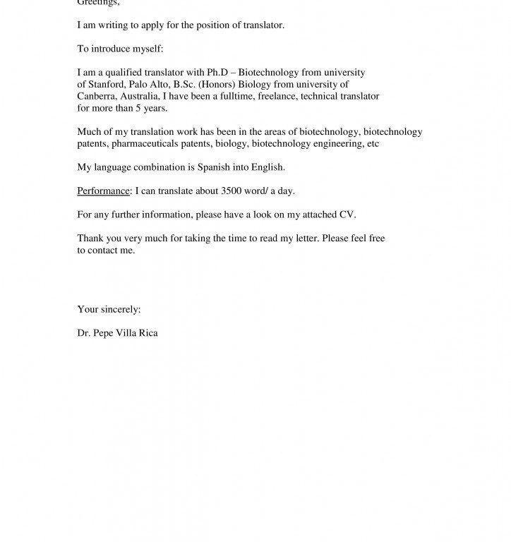 Ejemplo De Cover Letter | haadyaooverbayresort.com