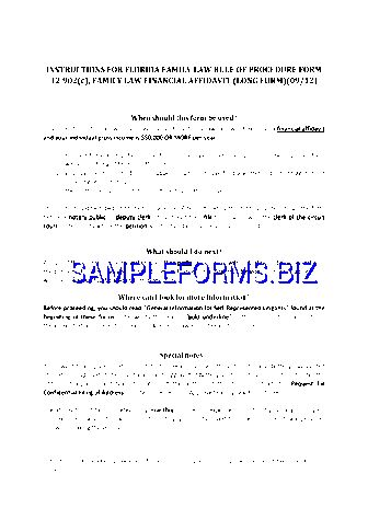 Affidavit Form templates & samples