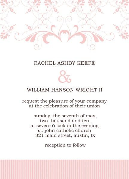 Microsoft Publisher Wedding Invitation Templates – Start Making ...
