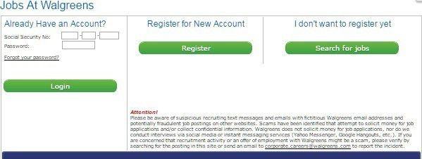 Walgreens Job Application - Apply Online