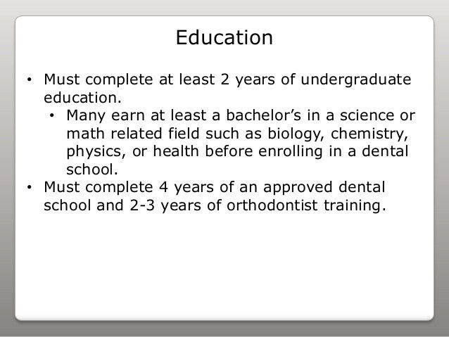 orthodontist my job search. dental assistant skills list dental ...