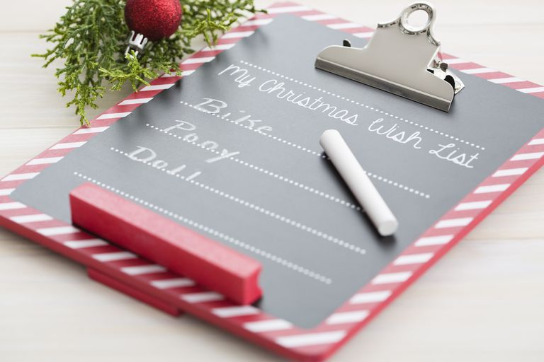 15 Printable Christmas Wish Lists for the Whole Family