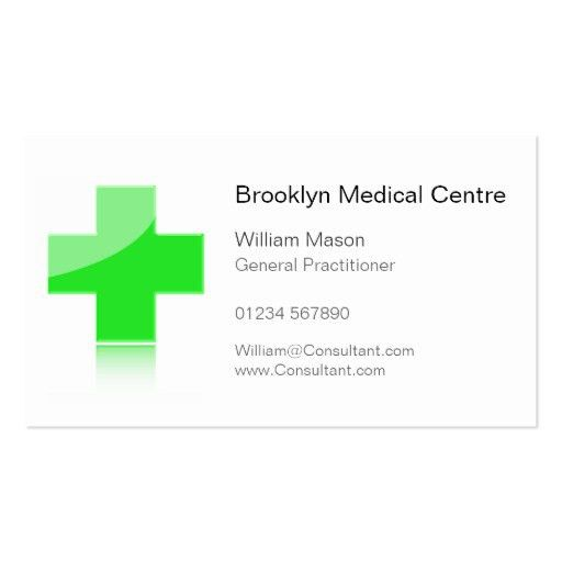 Create Your Own Doctor Business Cards