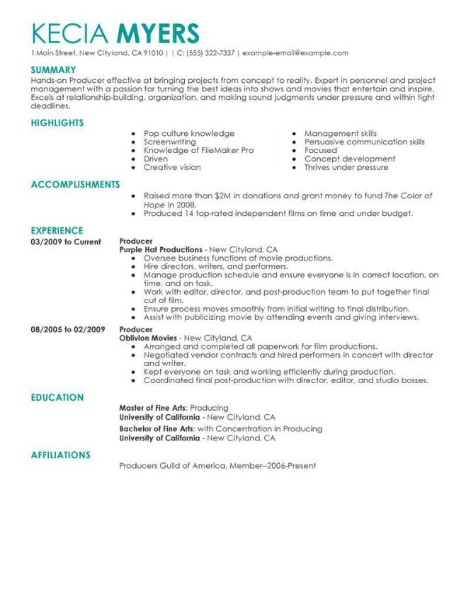 sample resume for a restaurant job httpwwwresumecareerinfo. resume ...