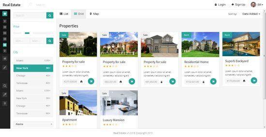 80+ Best Real Estate Website Templates Free & Premium - freshDesignweb