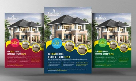 Check out Real Estate Flyer Template by Business Templates on ...