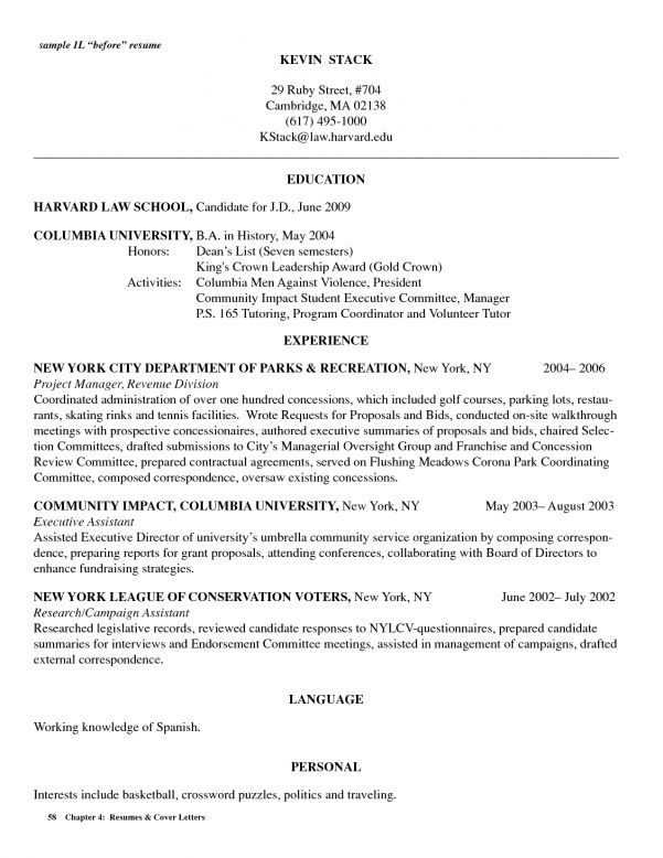 image result for sample resume law school. college resume template ...