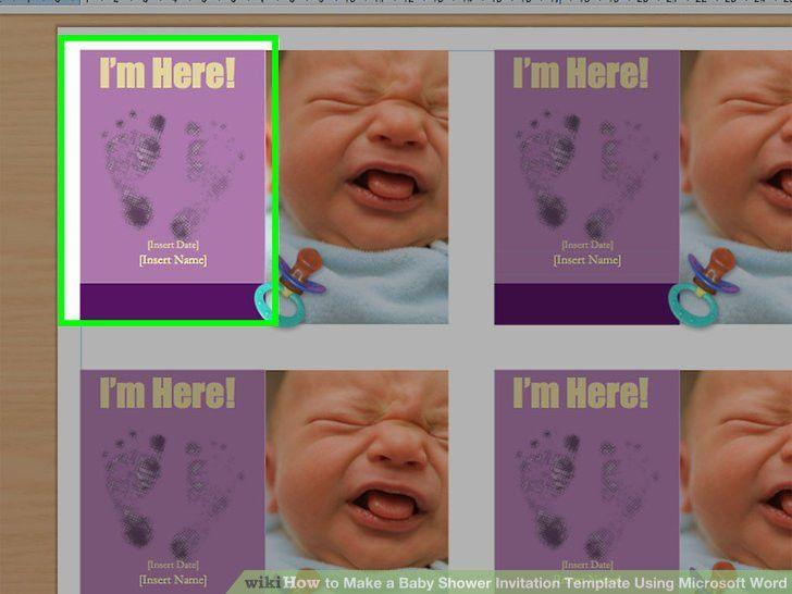 aid303914-v4-728px-Make-a-Baby-Shower-Invitation-Template-Using-Microsoft- Word-Step-14.jpg