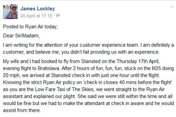 Best ever passenger complaint letter? Ryanair rant goes viral ...
