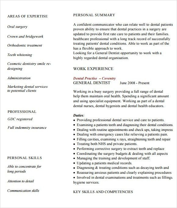 15+ Doctor Resume Templates - Free Samples, Examples