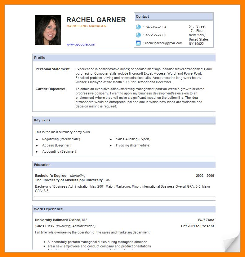 85 astounding online resume examples of resumes milano 9 example ...