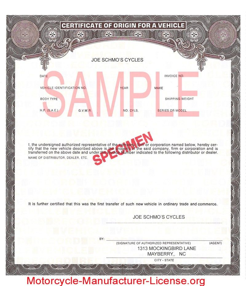 Certificate Of Origin Template. Formal Certificate Of Origin ...