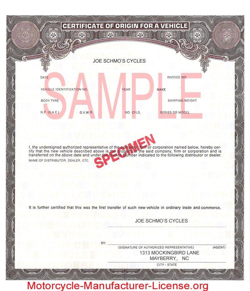 Certificate Of Origin Template. Sample Certificate Of Origin (Us ...