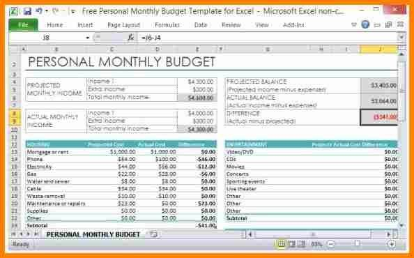9+ budget template in excel | budget template