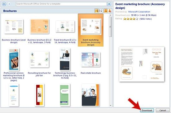 How to Make a Brochure on Microsoft Word | My How to Make